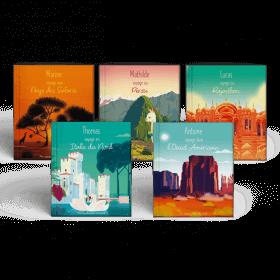 5 livres de La collection Mes Voyages Autour du monde