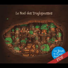 Carnet de jeux - Le Noël des Troglopousses - PDF