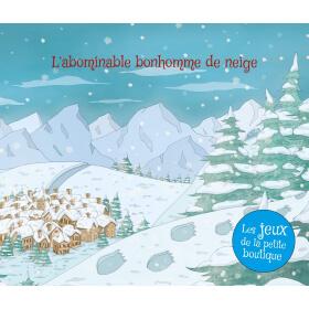 Carnet de jeux - L'abominable bonhomme de neige - PDF