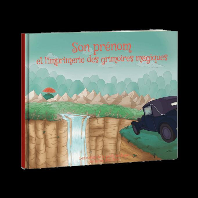 Votre enfant et l'imprimerie des grimoires magiques