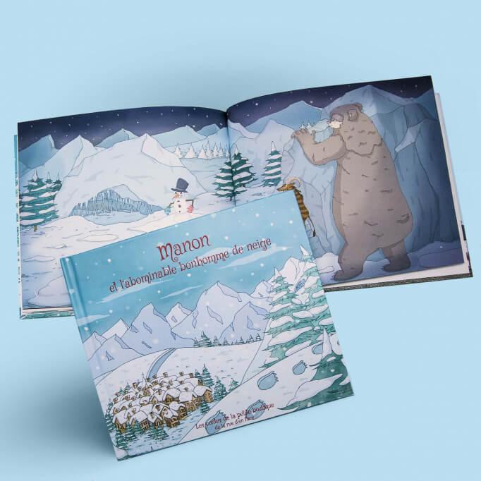 Un conte personnalisé sur les joies de la montagne