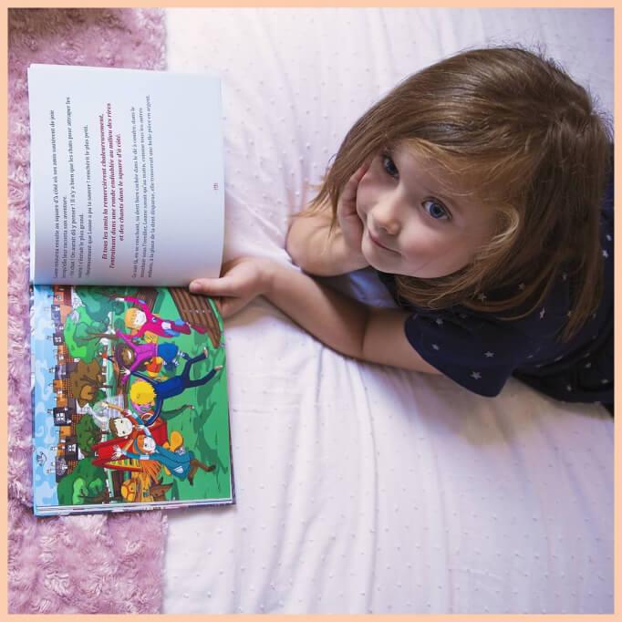 Livre pour enfants au prénom