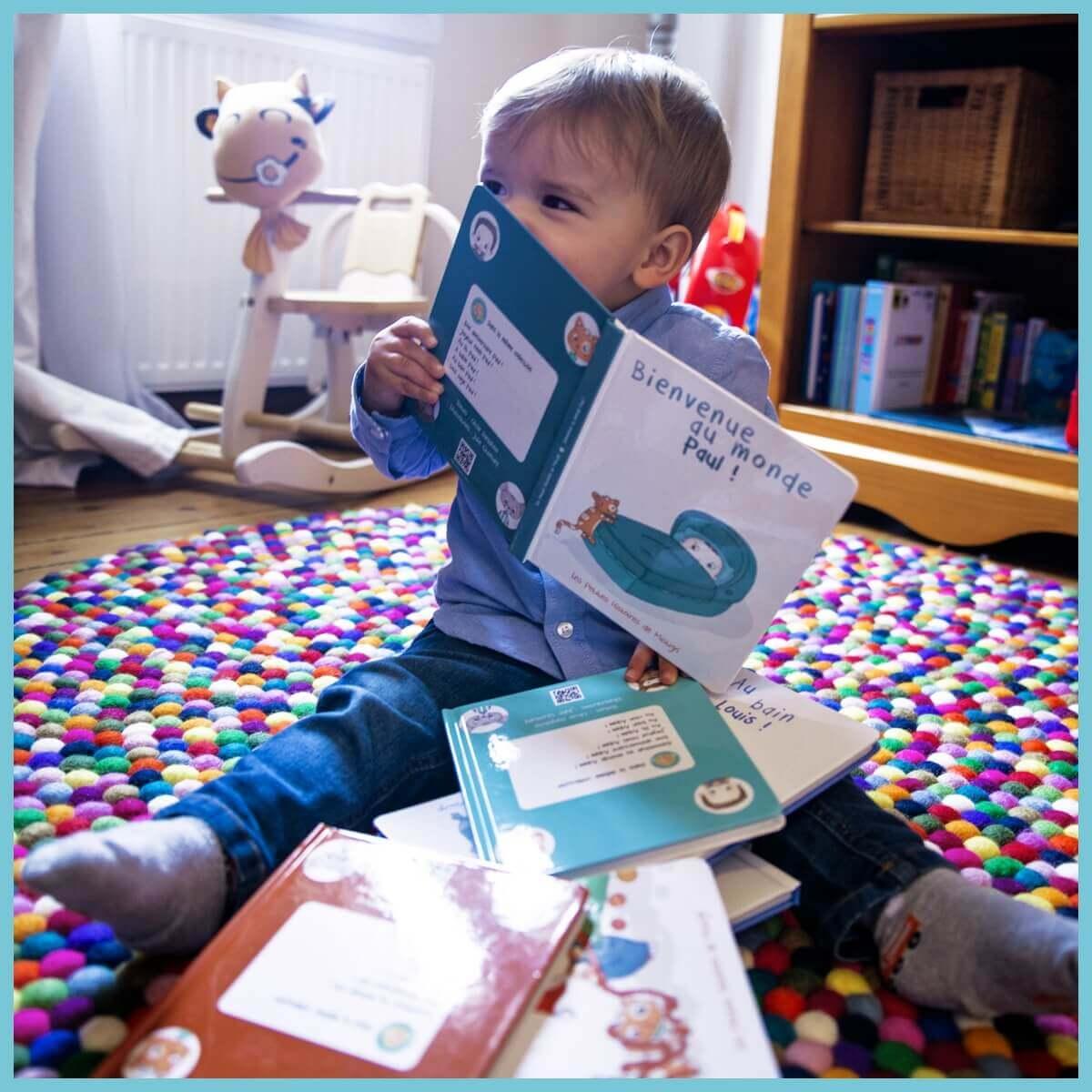 Bienvenue Au Monde Livre Personnalise Pour Bebe