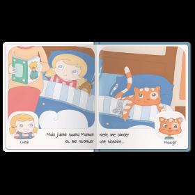 Au lit Pages intérieures cartonnées