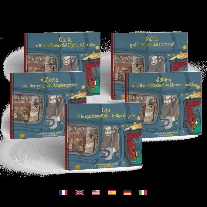 Traduit en 5 langues