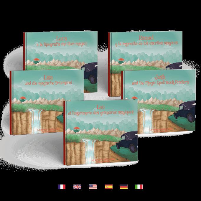 L'imprimerie des grimoires magiques en 5 langues