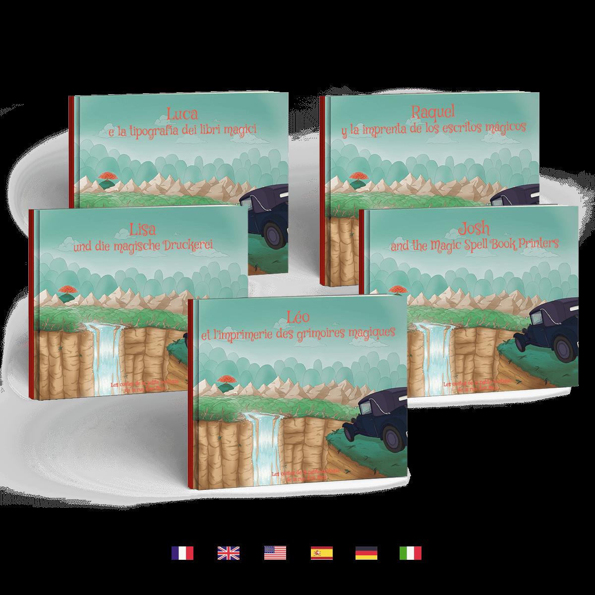 L Imprimerie Des Grimoires Magiques Livre Personnalise