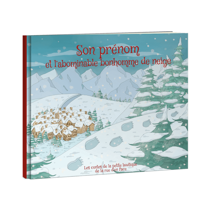PRENOM et l'abominable bonhomme de neige (pdf)
