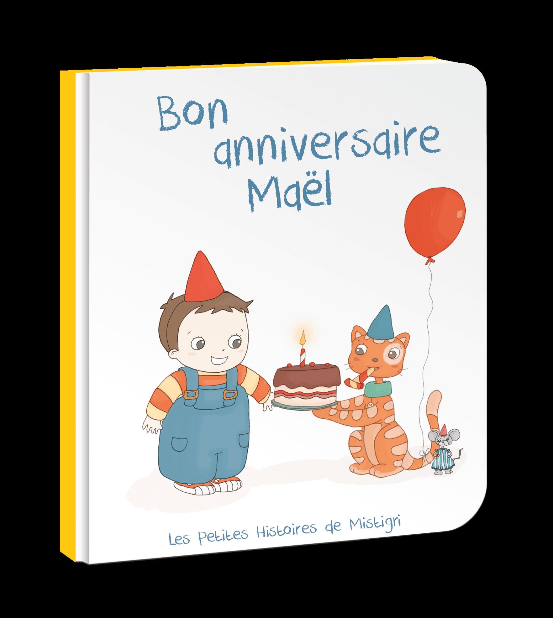 Bon Anniversaire Livre Personnalisé Pour Les Enfants 0 4 Ans En Pdf