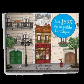 Carnet de jeux - Le Petit Vampire du Bac à Sable