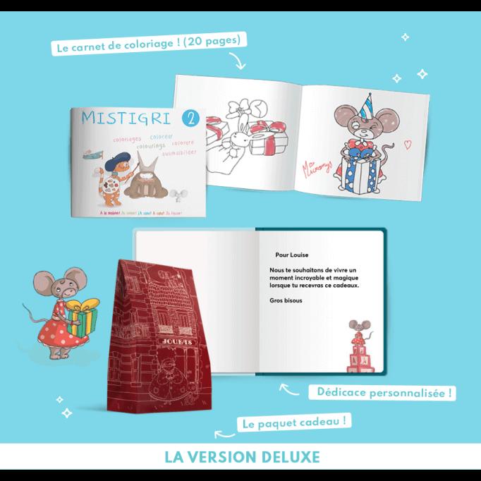 Pack deluxe du livre où votre enfant devient grand frère